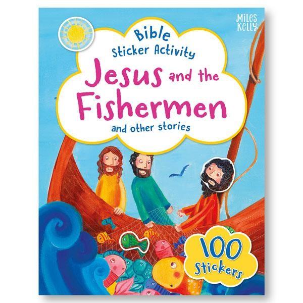 Bible Sticker Activity: Jesus and the Fishermen (Paperback)