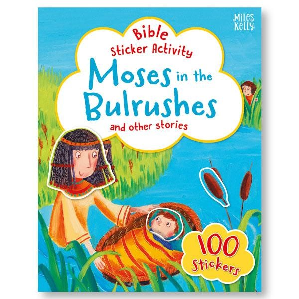 Bible Sticker Activity: Moses in the Bulrushes (Paperback)