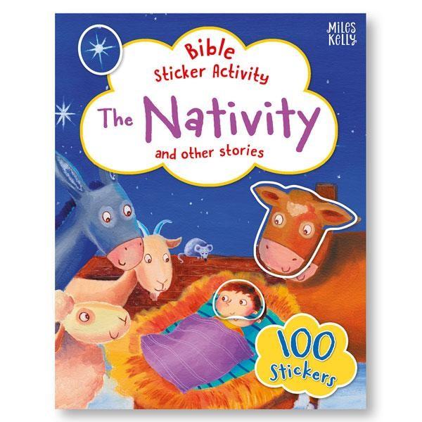 Bible Sticker Activity: The Nativity