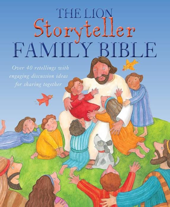 The Lion Storyteller Family Bible (Hard Cover)