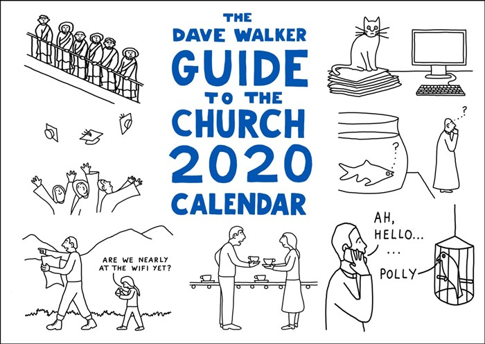 Dave Walker Guide to the Church 2020 Calendar (Calendar)