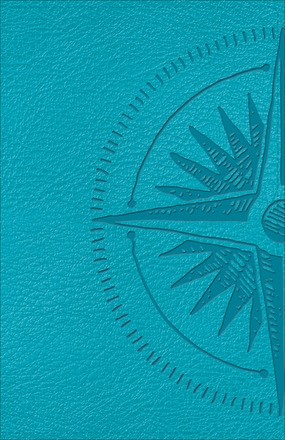 CSB Heart of God Teen Study Bible, Teal (Imitation Leather)