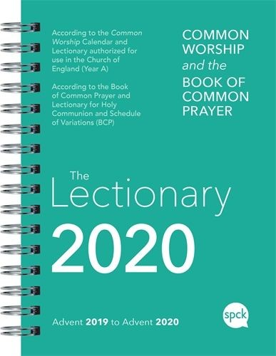 BCP Common Worship Lectionary 2020, Spiral Bound (Spiral Bound)