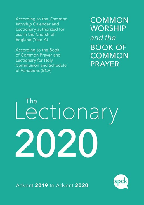 Common Worship Lectionary 2020, Cased with Elastic (Hard Cover)