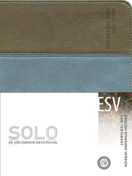 ESV Solo New Testament Devotional (Leather Binding)