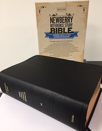 Newberry Reference Bible Interleaved (Genuine Leather)