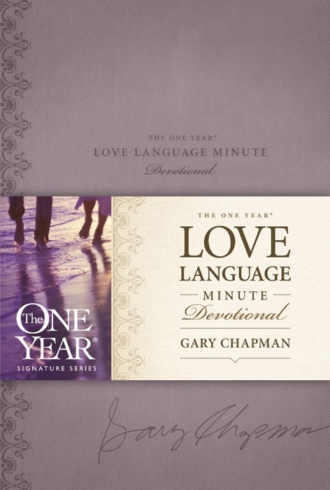 The One Year Love Language Minute Devotional (Imitation Leather)