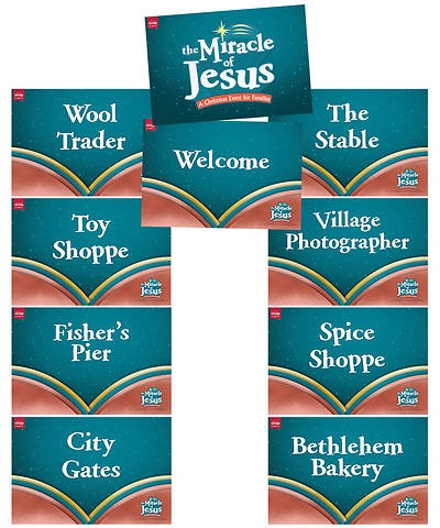 Miracle of Jesus Station Posters (Set of 9)