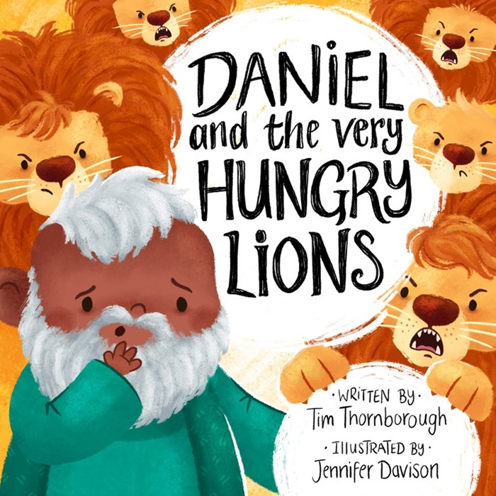 Daniel and the Very Hungry Lions (Hard Cover)