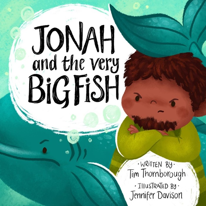 Jonah and the Very Big Fish (Hard Cover)