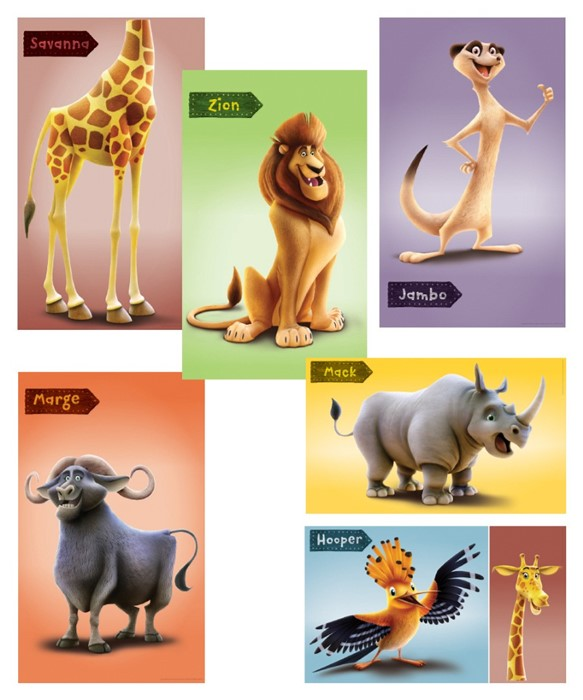 Giant Bible Memory Buddy Poster (set of 6)