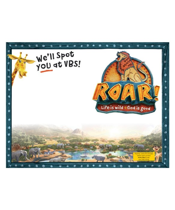 Roar Publicity Posters (pack of 5)