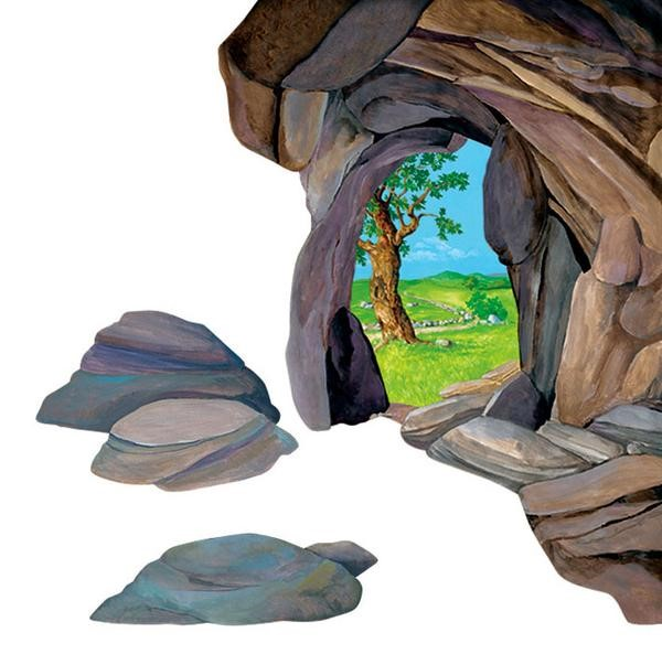 Large Cave Scene Overlay (General Merchandise)
