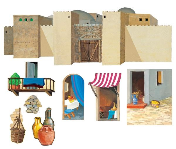 Large City Walls Overlay (General Merchandise)
