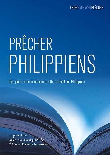 Prêcher Philippiens (Paperback)