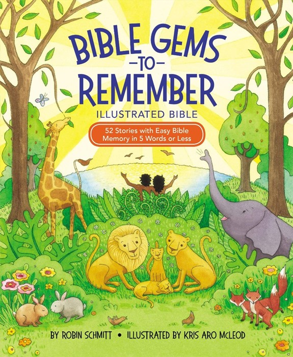 Bible Gems to Remember - Illustrated Bible (Hard Cover)