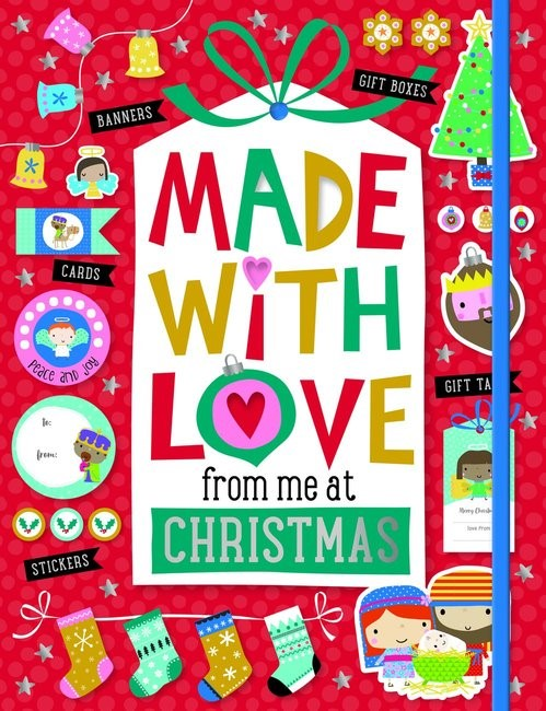 Made with Love from Me at Christmas (Paperback)