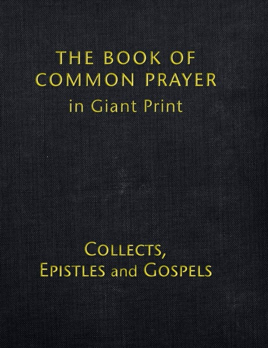 Book of Common Prayer (BCP) Giant Print (Hard Cover)