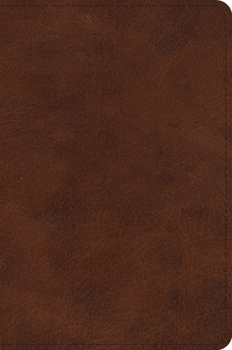 ESV Large Print Bible, TruTone, Deep Brown (Imitation Leather)