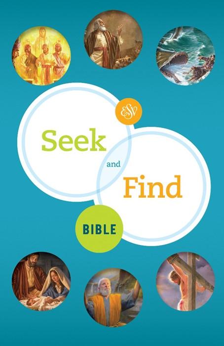 ESV Seek and Find Bible (Hard Cover)