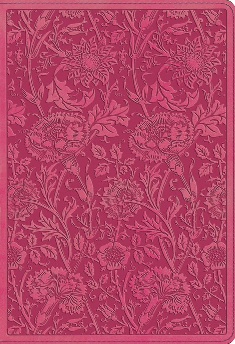 ESV Student Study Bible, TruTone, Berry, Floral Design
