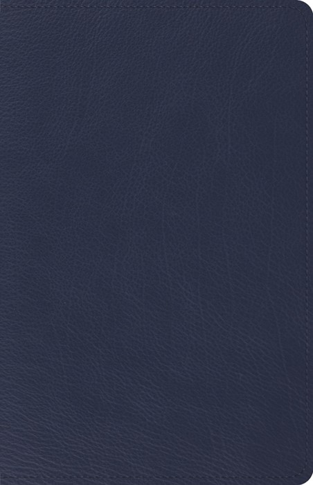 ESV Heirloom Thinline Bible, Goatskin, Blue (Genuine Leather)