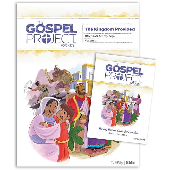 Gospel Project: Older Kids Activity Pack, Summer 2019 (Kit)
