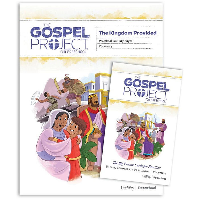 Gospel Project: Preschool Activity Pages, Summer 2019 (Kit)