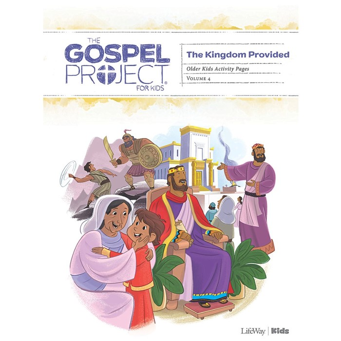 Gospel Project: Older Kids Activity Pages, Summer 2019 (Paperback)
