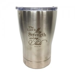 Tumbler Mug The Lord is My Strength