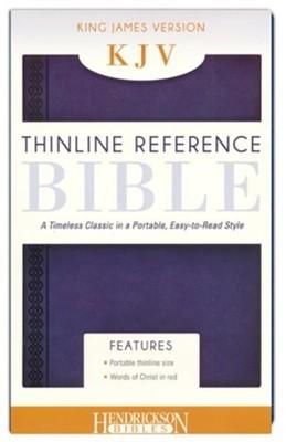 KJV Thinline Reference Bible, Midnight Blue (Flexisoft)