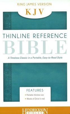KJV Thinline Bible, Aquamarine (Flexisoft)
