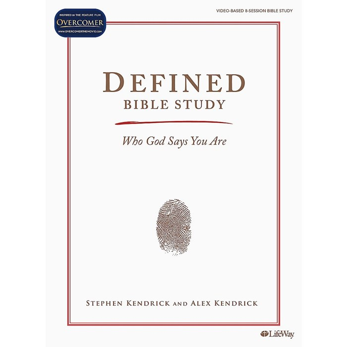 Defined Bible Study Book