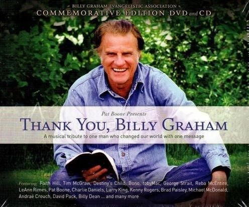 Thank You, Billy Graham DVD & CD (DVD & CD)