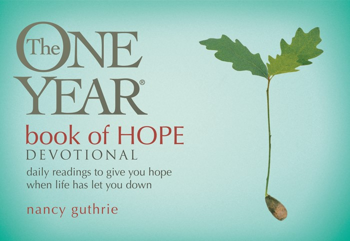 The One Year Book Of Hope Devotional (Paperback)