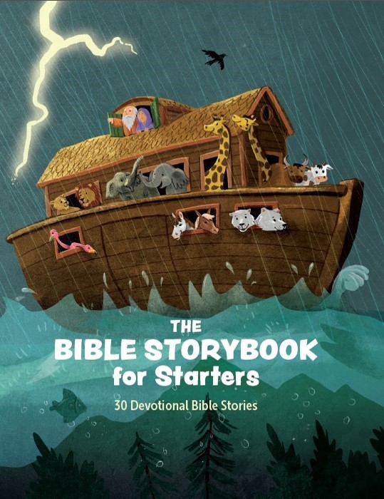 The Bible Storybook for Starters (Hard Cover)