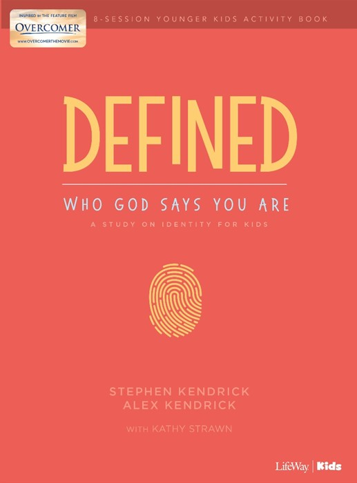 Defined: Who God Says You Are - Younger Kids Activity Book (Paperback)