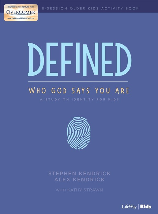 Defined: Who God Says You Are - Older Kids Activity Book (Paperback)