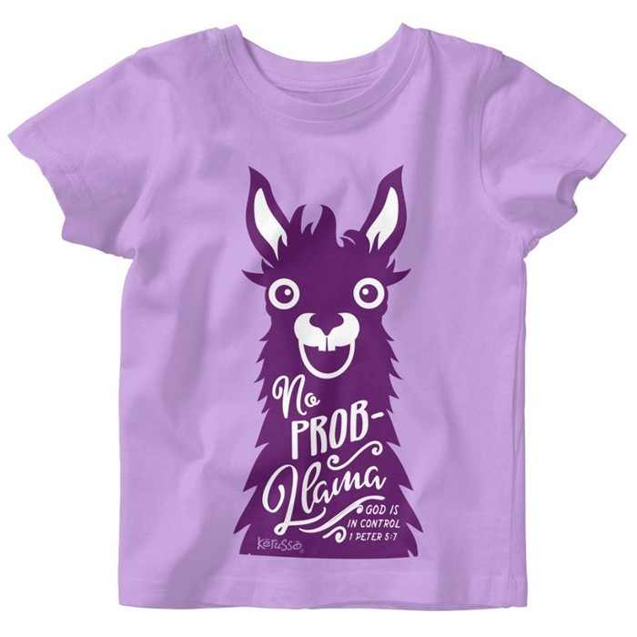 No Prob-Llama Baby T-Shirt 6 Months (General Merchandise)