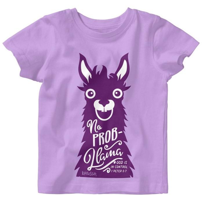 No Prob-Llama Baby T-Shirt 12 Months (General Merchandise)