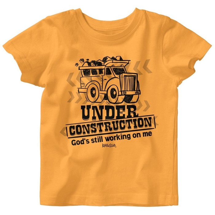 Under Construction Baby T-Shirt 6 Months (General Merchandise)