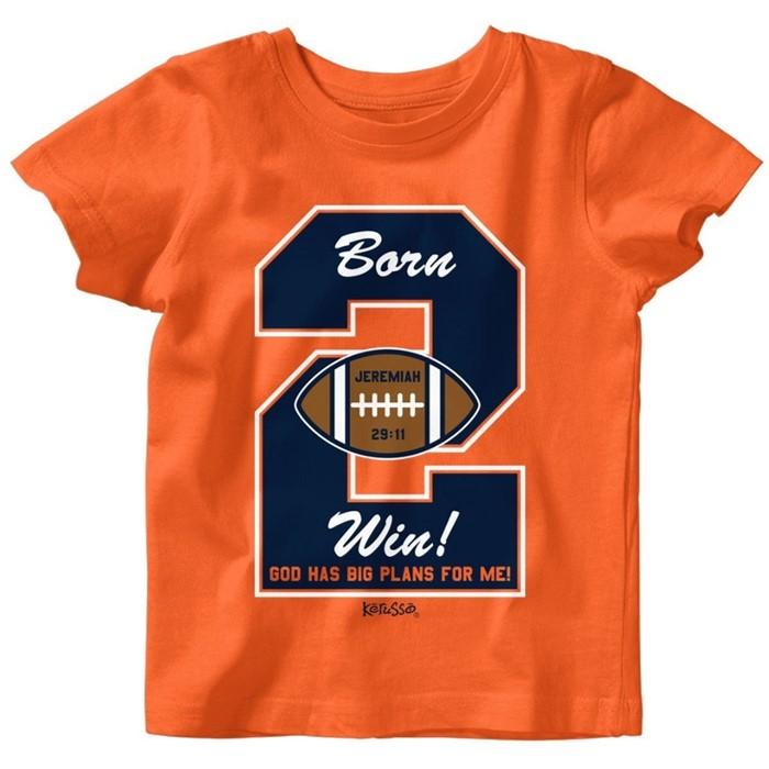 Born 2 Win Baby T-Shirt 6 Months (General Merchandise)