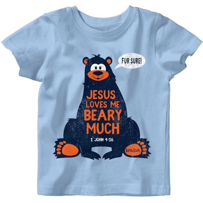 Jesus Loves Me Baby T-Shirt 6 Months (General Merchandise)