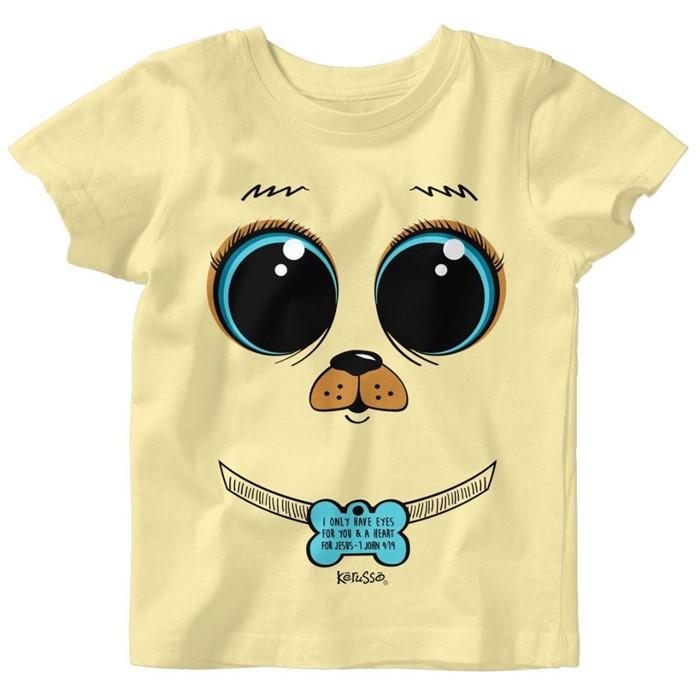 Puppy Dog Eyes Baby T-Shirt 6 Months (General Merchandise)