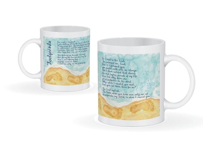 Footprints Mug (General Merchandise)