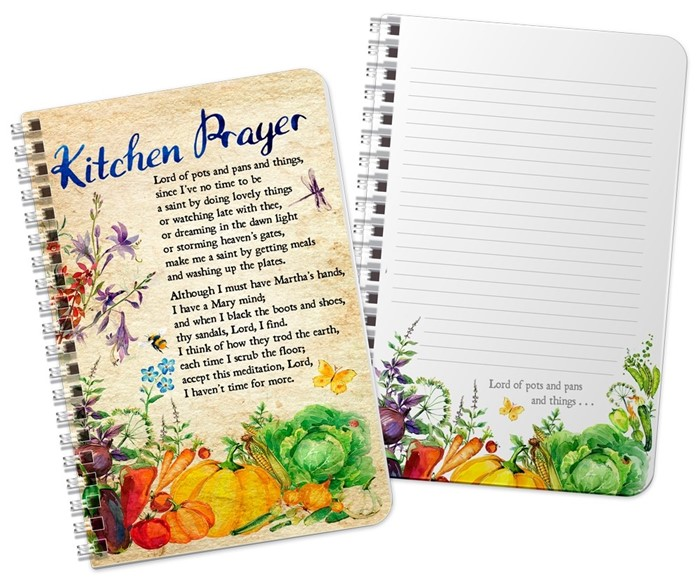 Kitchen Prayer Notebook (Spiral Bound)
