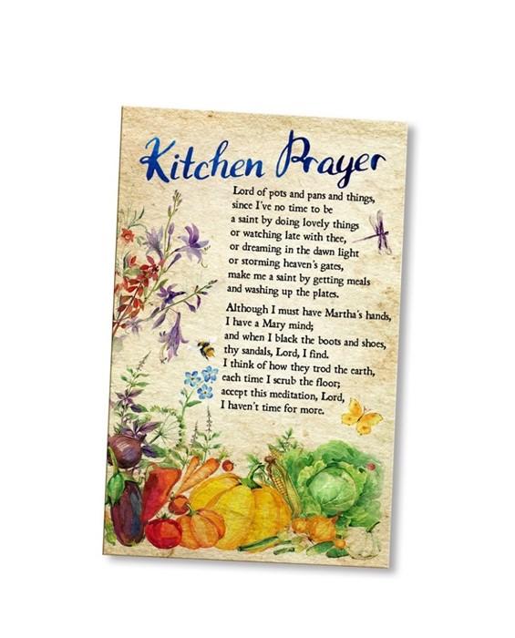 Kitchen Prayer - Prayer Cards (pack of 20) (Cards)