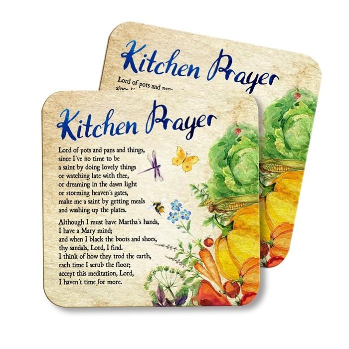 Kitchen Prayer Coaster (General Merchandise)