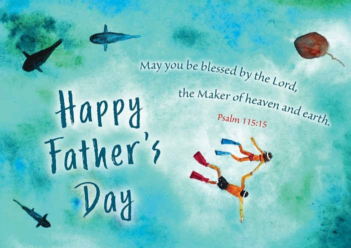 Happy Father's Day Postcard (pack of 20) (Postcard)