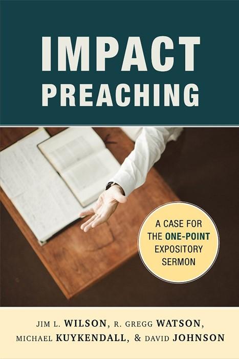 Impact Preaching (Paperback)
